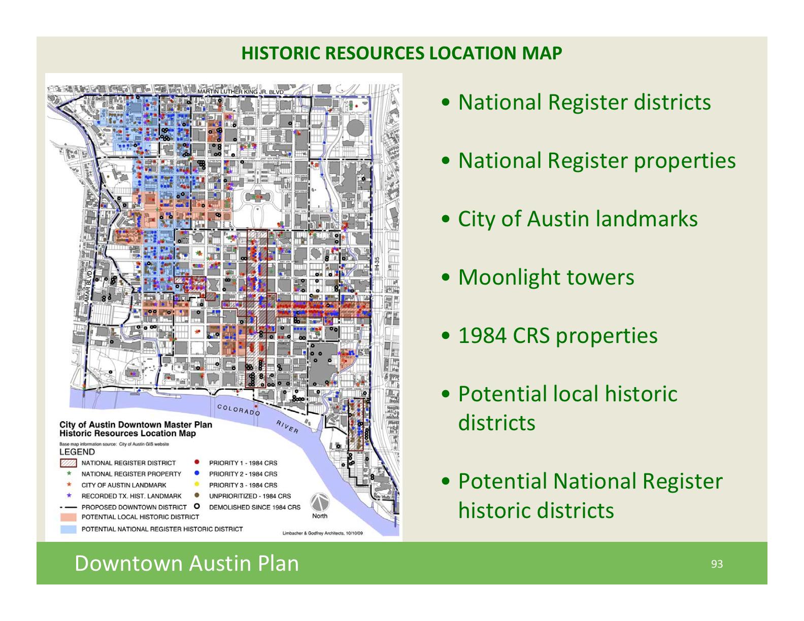 DAPTownHallMtg10-10-09 - historic preservation strategies map